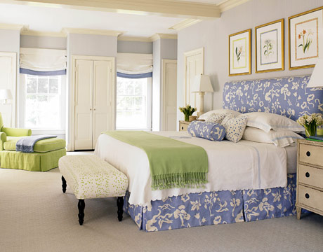 Healthy Wealthy Moms: Romantic Blue and white bedrooms